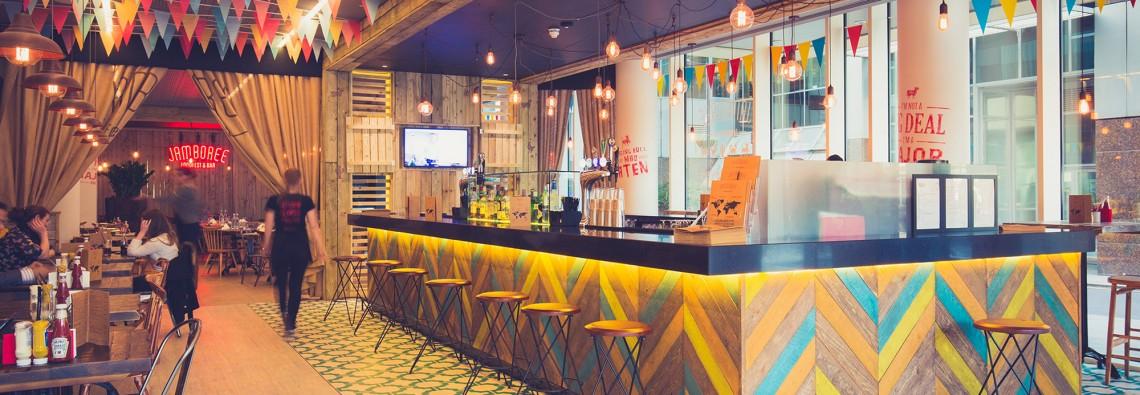 Jamboree Restaurant Interior Design
