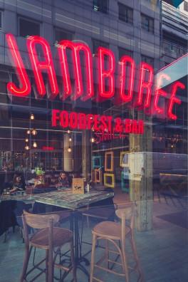 Jamboree Neon Signage