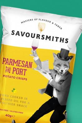 Savoursmiths Parmesan Crisps
