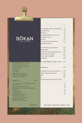 BŌKAN Bar Menu