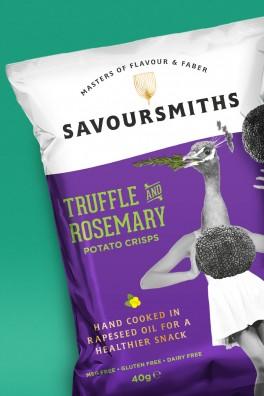 Savoursmiths Truffle Crisps
