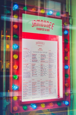Jamboree Window Menu Design