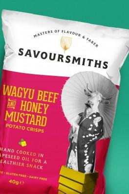 Savoursmiths Beef Crisps