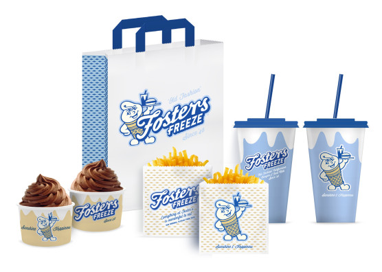 Fosters Freeze Packaging