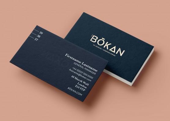 BŌKAN Business Card