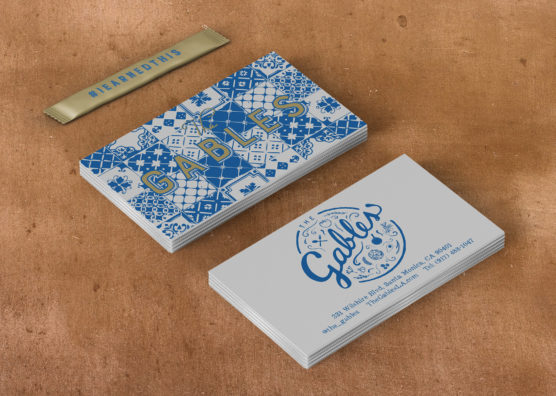 The Gables Business Cards