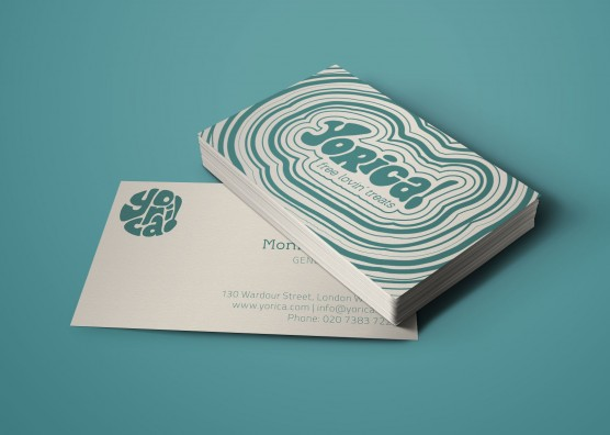 Yorica Business Card Design