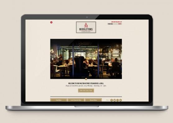 Middeltons Website Design
