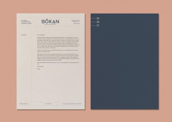 BŌKAN Letterhead