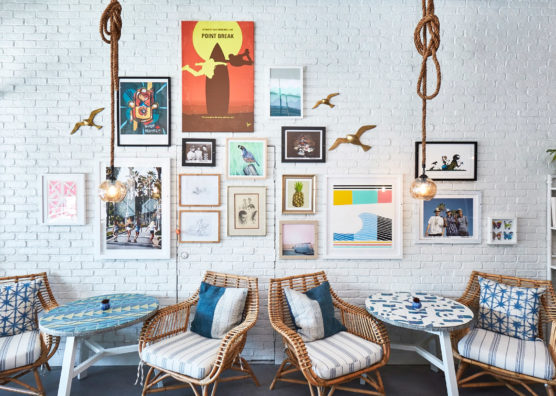 The Gabels Frame Wall Interior Design