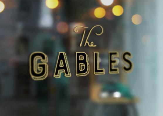The Gables Window Vinyl