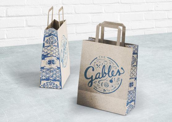 The Gables Takeaway Bag