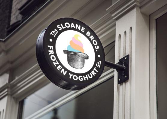 Sloane Bros. Signage