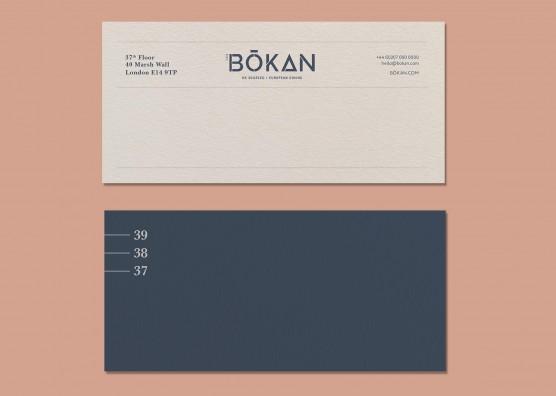 BŌKAN Compliments Slip
