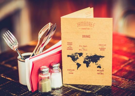 Jamboree Restaurant Menu Design