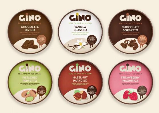 Gino Gelato Ice Cream Pot Lids