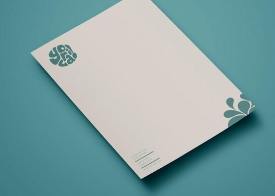 Yorica Letterhead Design