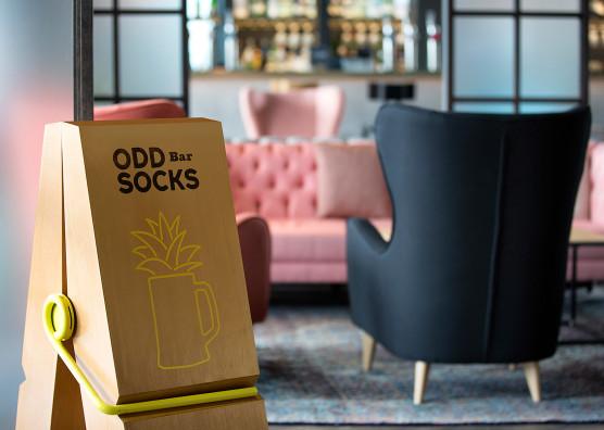 Oddsocks Bar Sign