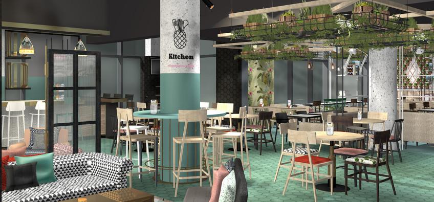 Oddsocks Cafe Render