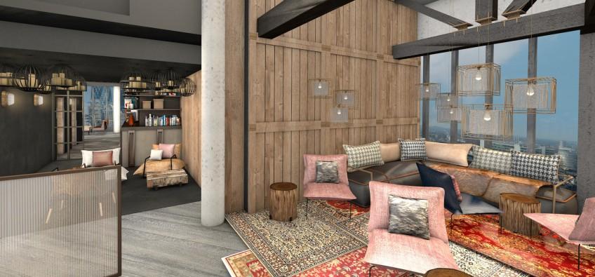 BŌKAN Terrace Lounge Visual