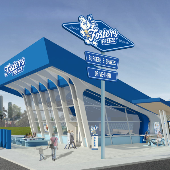 A new generation set to fall in love with Fosters Freeze